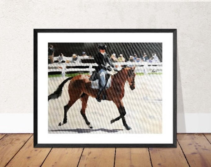 Horse Painting,PRINTS, Canvas, Posters, Commissions, Fine Art - from original oil painting by James Coates
