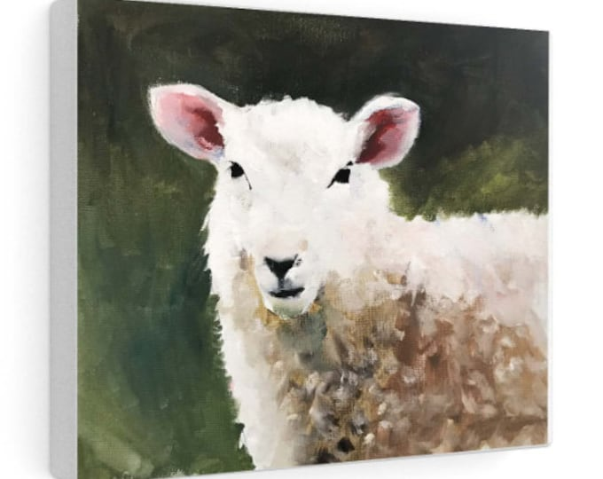 Sheep Painting, PRINTS, Canvas, Posters, Originals, Commissions - Fine Art - from original oil painting by James Coates