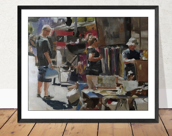 Life Painting Wall art - Canvas Print - Fine Art - from original oil painting by James Coates