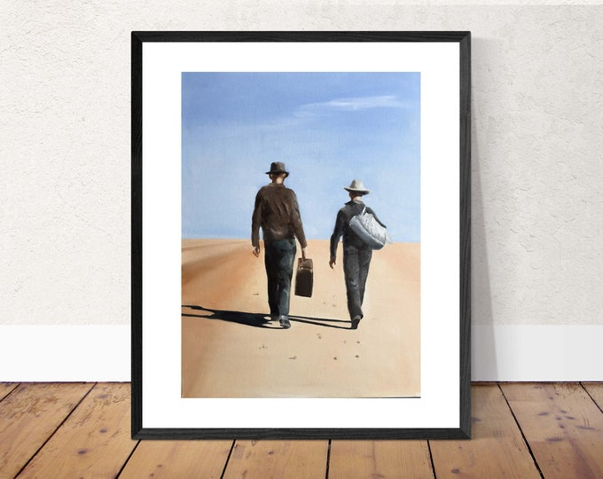 Travel Painting Wall art - Canvas Print - Fine Art - from original oil painting by James Coates