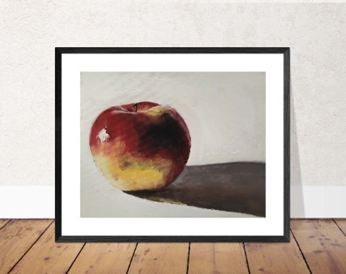 Apple Painting, PRINTS, Canvas, Posters, Commissions - Fine Art from original oil painting by James Coates