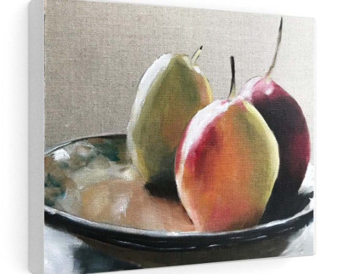 Fruit Painting, Still life art, Canvas and Paper Prints ,Fine Art from original oil painting by James Coates