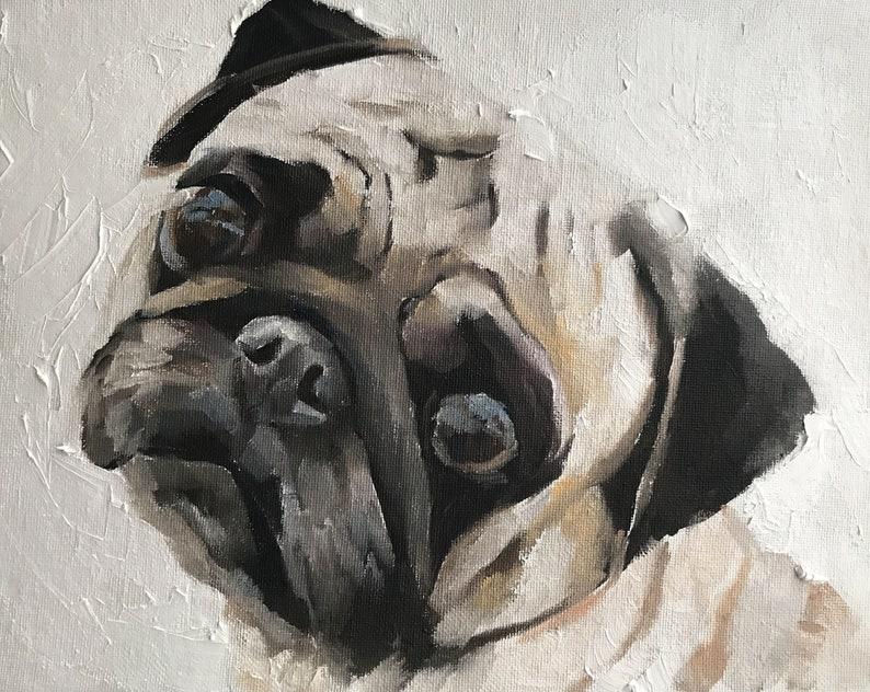Custom Pet Portrait Pet Portrait Pet Painting Dog Lover Dog Portrait Original Oil Painting Cat Portrait Pet Portrait Commission