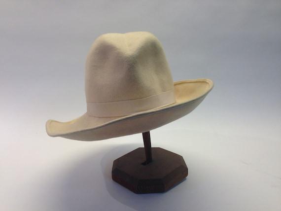 French felt hat | Vintage | 1970s | Fedora hat | … - image 3