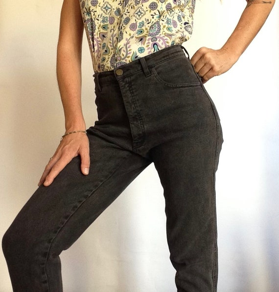 Armani Jeans | Vintage | 1990s | Pants | Black Jea