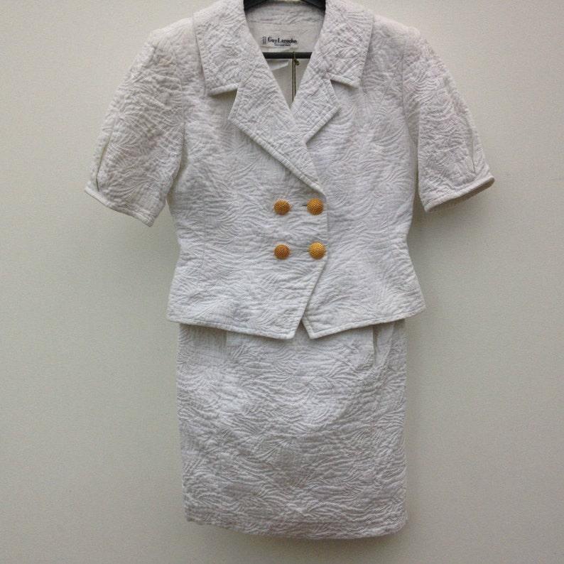 Costumes, Tailleurs Tailleur Dior Jupe Fourreau Veste Grandes Poches Vintage Reasonable Price