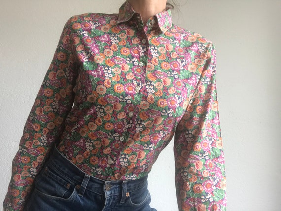 Cacharel | Vintage | 1980s | Blouse/shirt | Cotton
