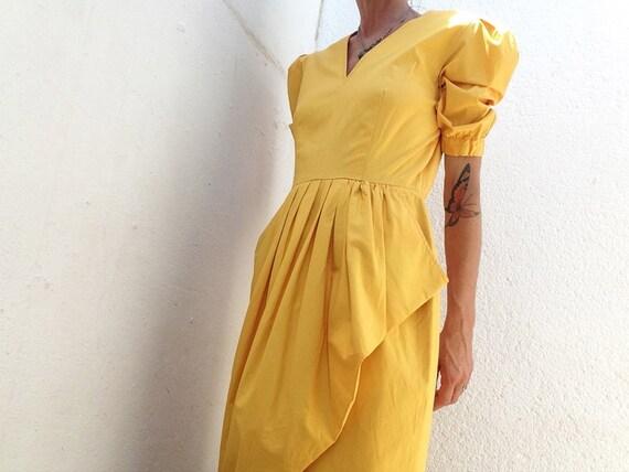 Guy Laroche | Vintage | 1980s | Dress | Asymmetric