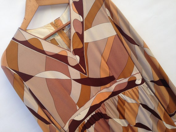 Emilio Pucci   Vintage   1960s   Dress   Silk   B… - image 4