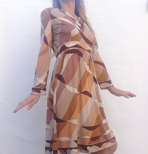 Emilio Pucci   Vintage   1960s   Dress   Silk   B… - image 2