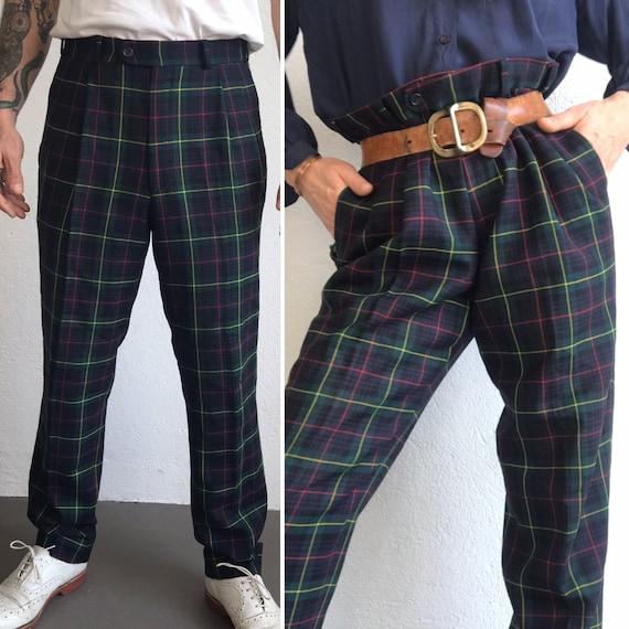 Burberrys' | Vintage | 1980s | Pants | Virgin woo… - image 1