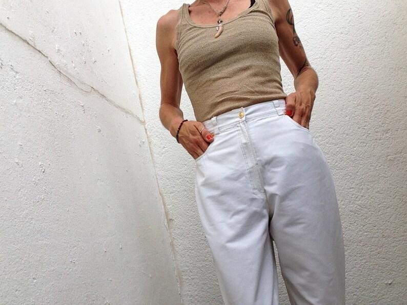 368b343a5d25d Versus Gianni Versace Vintage 1980s Pants Cotton