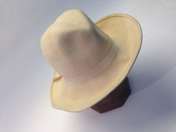 French felt hat | Vintage | 1970s | Fedora hat | … - image 8