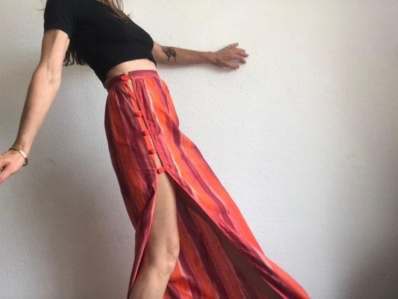 Paco Rabanne | Vintage | 1980s | Maxi Skirt | Body