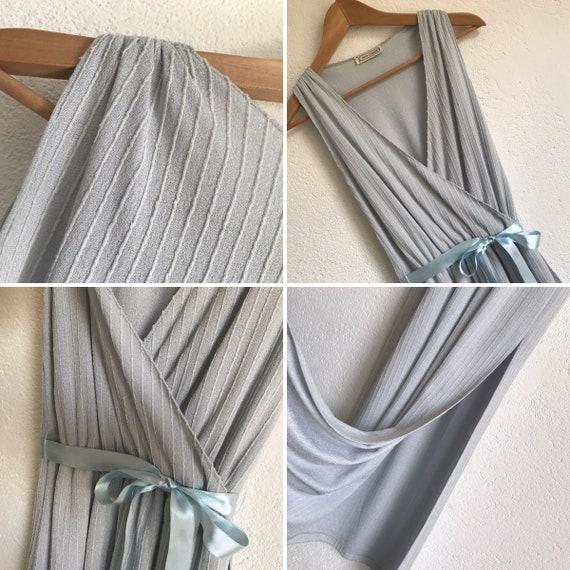 Vintage Evening Dress | Maxi Dress | 1980s | Stri… - image 8