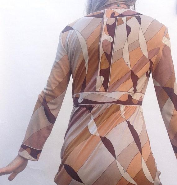 Emilio Pucci   Vintage   1960s   Dress   Silk   B… - image 3