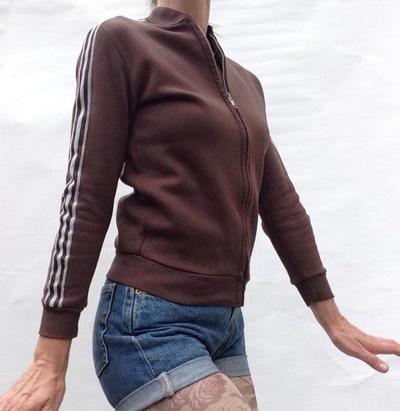 Adidas | Vintage | 1960s | Track jacket | Ventex | Sport jacket | BrownWhite | Collector | Rare