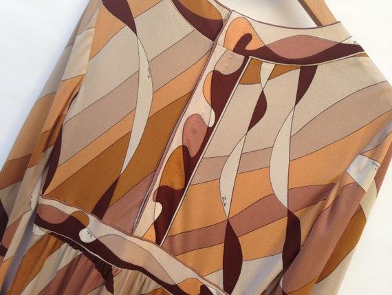 Emilio Pucci   Vintage   1960s   Dress   Silk   B… - image 7