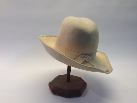 French felt hat | Vintage | 1970s | Fedora hat | … - image 5
