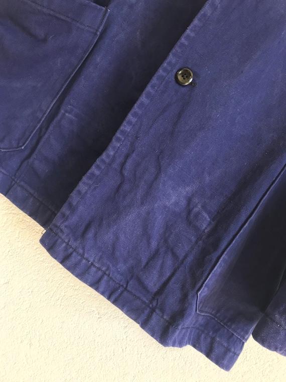 French workwear | Vintage | 1960s | Blue worker j… - image 7