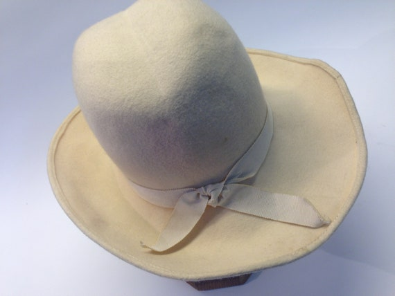 French felt hat | Vintage | 1970s | Fedora hat | … - image 6