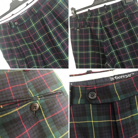 Burberrys' | Vintage | 1980s | Pants | Virgin woo… - image 7