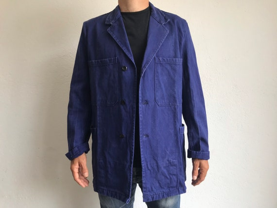 French workwear | Vintage | 1960s | Blue worker ja