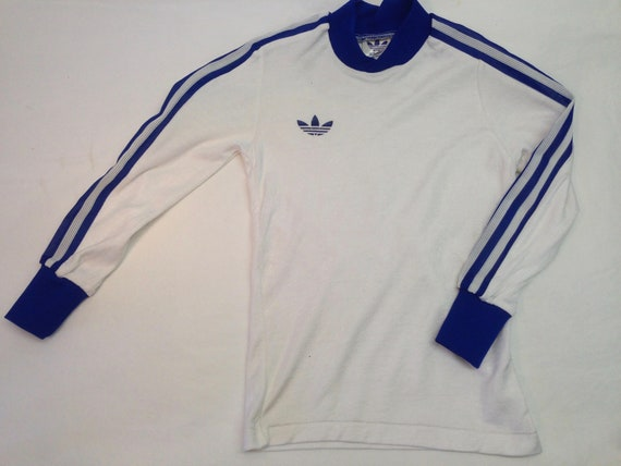 Adidas | Vintage | 1970s | Soccer Jersey | White |