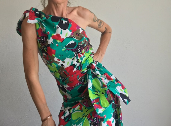 Guy Laroche | Vintage | 1980s | Sheath Dress | Flo