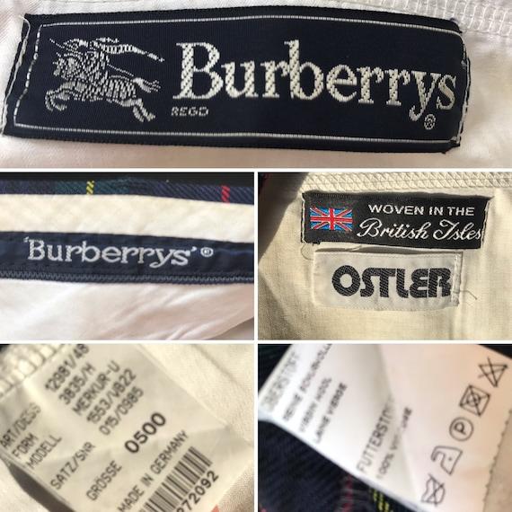 Burberrys' | Vintage | 1980s | Pants | Virgin woo… - image 8