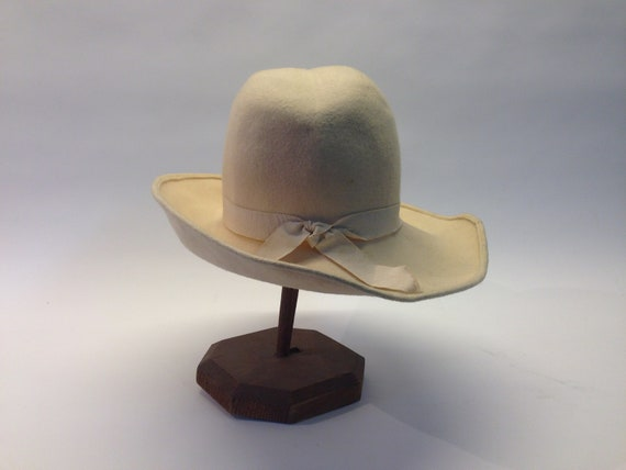 French felt hat | Vintage | 1970s | Fedora hat | … - image 7