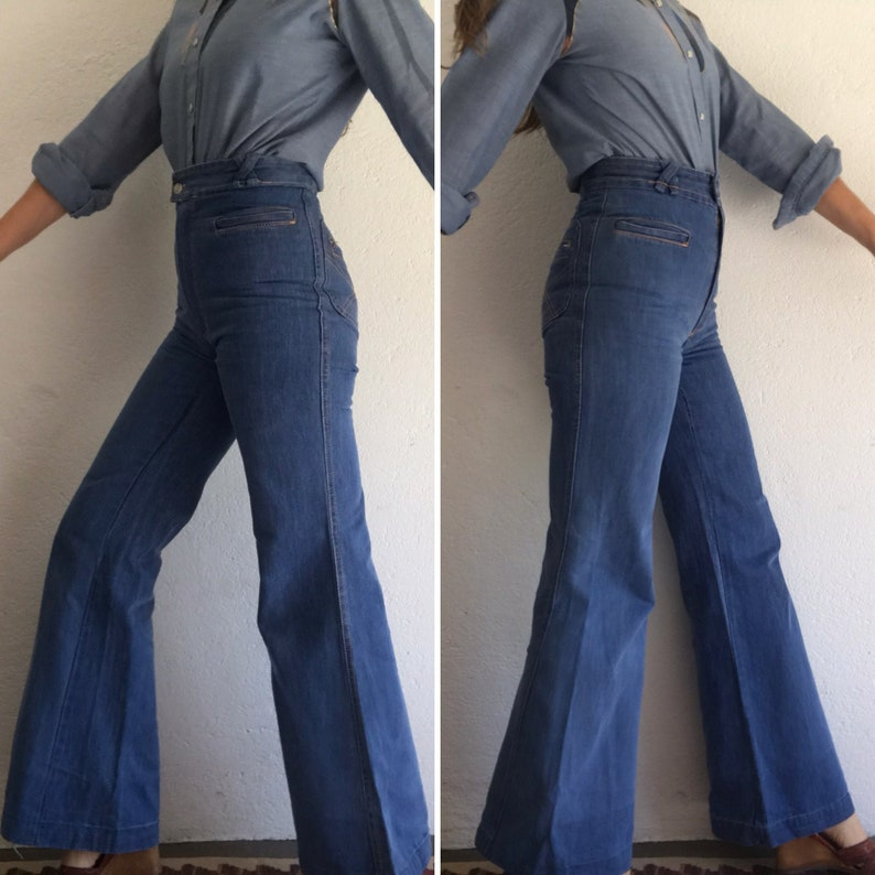 Jolie Frisson 1970 Bell Bottom Pants
