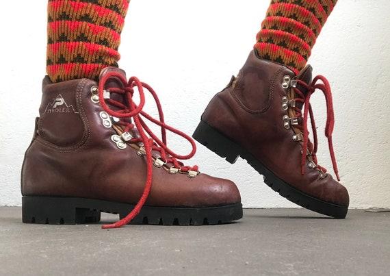 Patrick   Vintage   1970s   Mountain boots   Leath