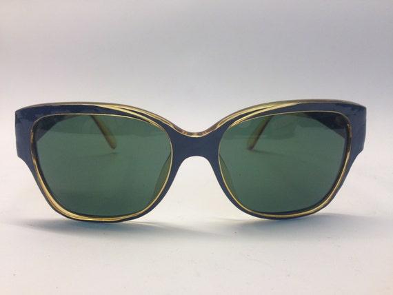 Christian Dior | Vintage | 1980s | Sunglasses | Bl