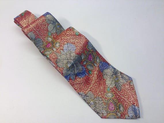 Paco Rabanne | Vintage | 1980s | Necktie | Paisley