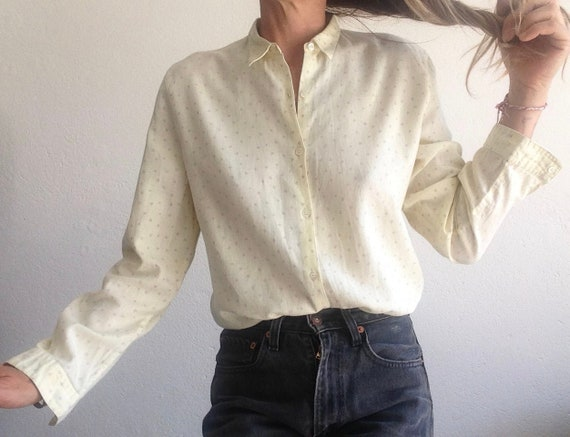 Cacharel | Vintage | 1980s | Blouse/shirt | Play c