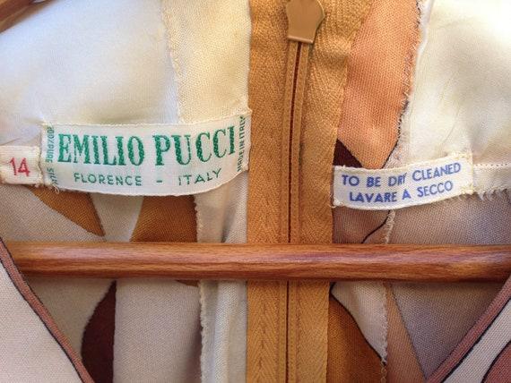 Emilio Pucci   Vintage   1960s   Dress   Silk   B… - image 6