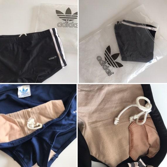 Adidas Clipper | Vintage | 1970s | Swimwear | Bla… - image 10