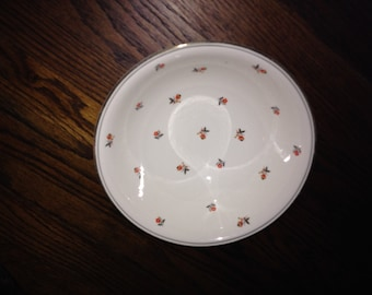 Vintage HOMER LAUGHLIN Nautilus Cardinal Pattern Vegetable Bowl