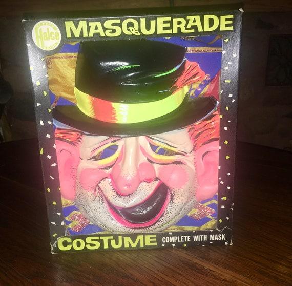 Vintage 1960s Halco Superb Brand Masquerade Dragon Costume