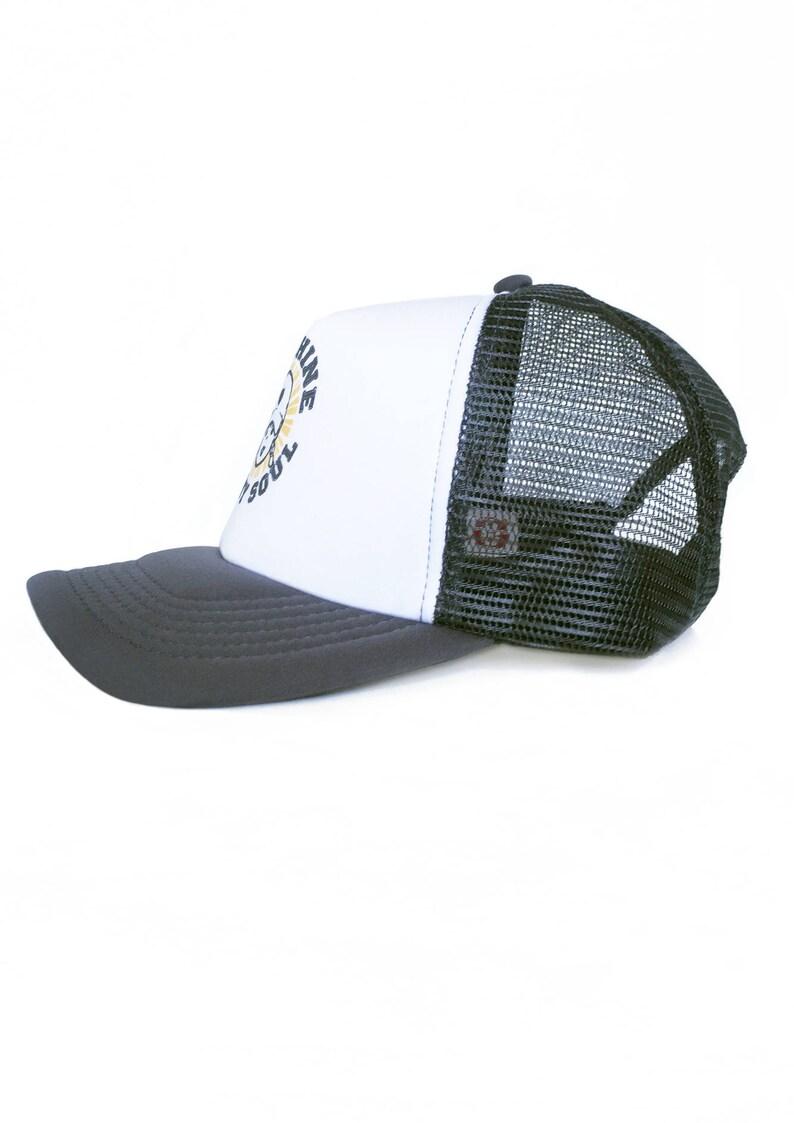 Trucker Hat For Women Sunshine In My Soul Zen Quote Mesh  87a043868e69