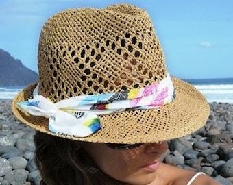 aa813484b2e Fedora beach hat