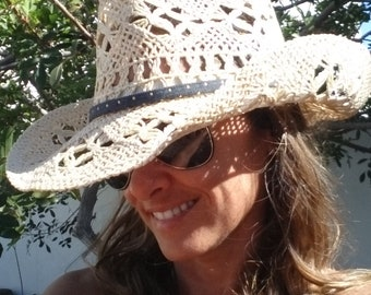 Womens cowboy hat  335374a44d61