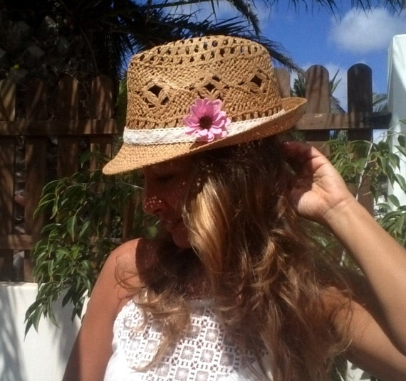 Fedora hat straw hat sun hats hats for women beach hats  e90083a01
