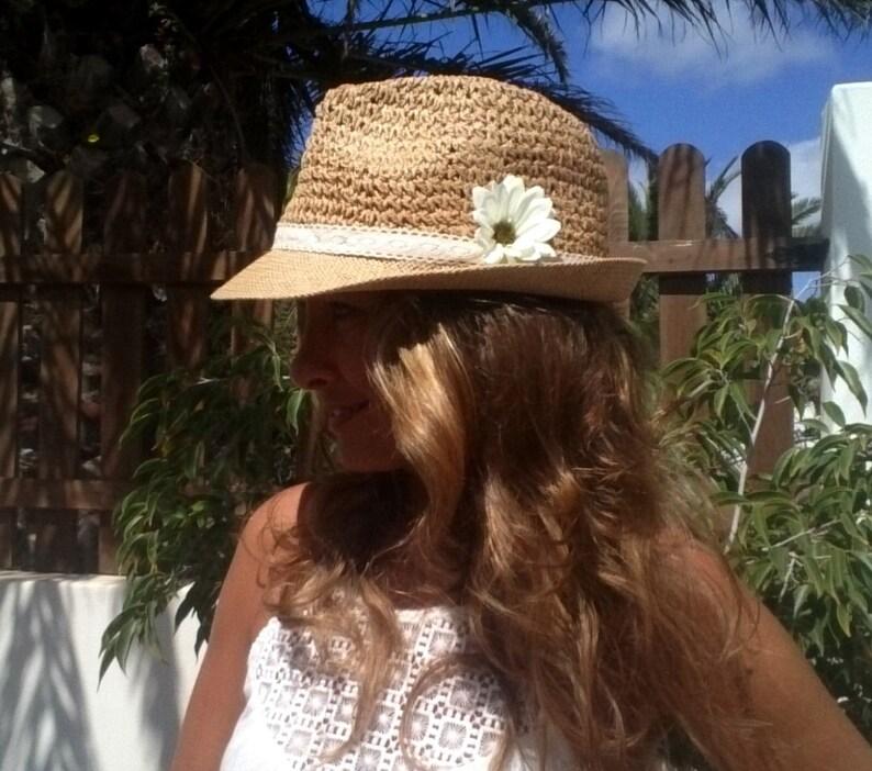 8b22e5d5306ec1 Summer hats women hats hat stores fedora hat Ivory Hat | Etsy
