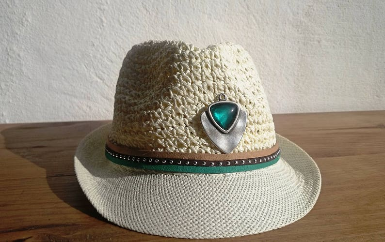 66b4084b23446 Fashion accessories fedora hat green hat fashion trends