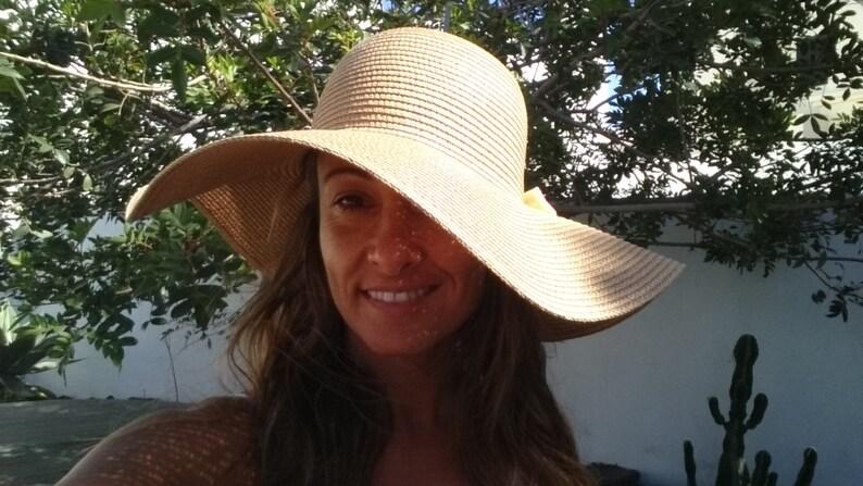 83047c8f142 Beach hat wide brim hat floppy hat wide brim straw hat