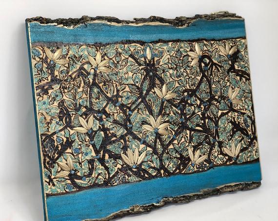 The Arabesque®  Ready to Hang Wooden Wall Art: Madinat al-Zahra Hispano-Umayyad Arabesque Design. Medieval  Art; Islamic Art; Spanish Art