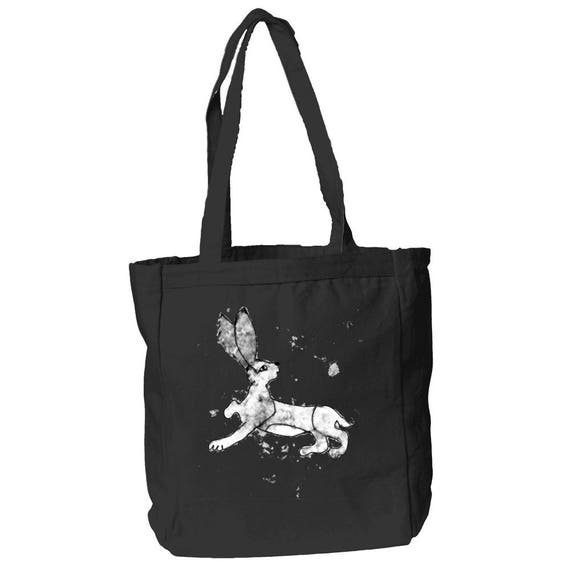 The Talking Hare Medieval Bunny Tote by The Arabesque