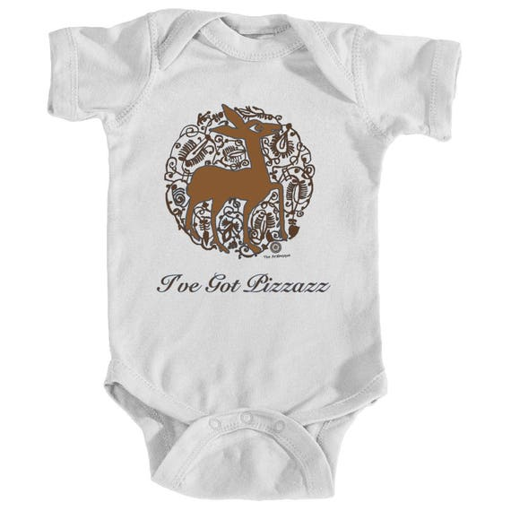 Pizzazz -  Medieval Valencian Deer and Nature Design Bodysuit by The Arabesque